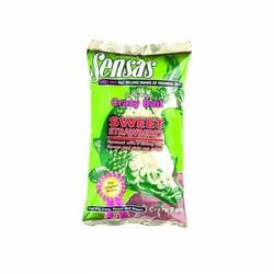 Zanęta Sensas CRAZY BAIT SWEET STRAWBERRY 1 kg truskawaka