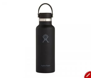 Butelka termiczna hydro flask 532 ml standard mouth flex cap skyline black vsco