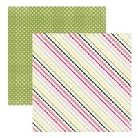 Papier 30,5x30,5 cm Splendid sunshine - sunny stri