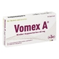 Vomex a 40 mg kindersuppos.