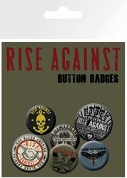 Rise Against, Shaking Hands - zestaw przypinek