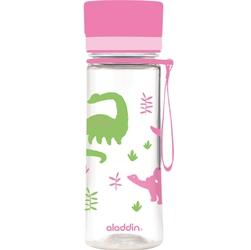 Butelka na wodę dla dzieci 0,35 litra aveo aladdin hydration, różowa 10-01101-093