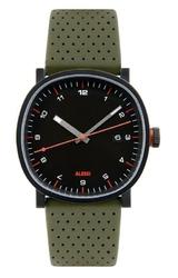 Zegarek męski Tic15 skórzany pasek zielony
