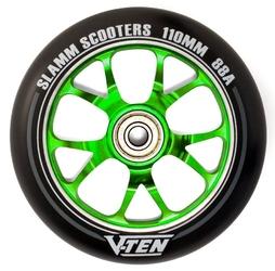 Kółko slamm v-ten ii 110mm green 1szt