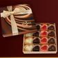 Czekoladki serduszkowy wir z czekolady