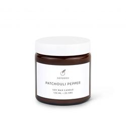 Soyoosh - świeca sojowa patchouli pepper 120 ml