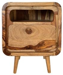 Table4u :: drewniany stolik nocny marek 45x35x55 - kolor krowa
