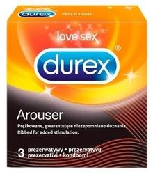 Prezerwatywa durex arouser x 3 sztuki