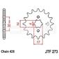 Zębatka przednia jt f273-14, 14z, rozmiar 428 2201299 suzuki fl 125
