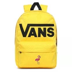 Plecak szkolny vans old skool iii lemon chrome custom flamingo