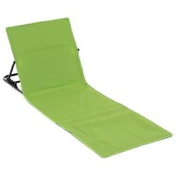 Leżak plażowy mata na plażę zielona