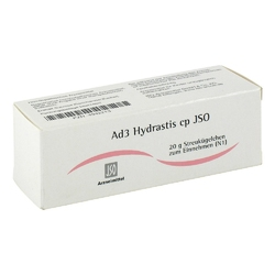 Jso jkh adermittel ad 3 hydrastis cp globuli