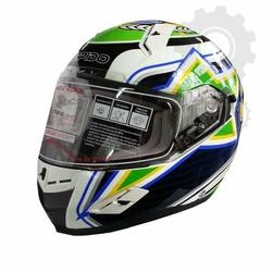Kask Ispido RACE SV BRAZIL białyzielonyczarnyżółty