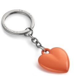 Brelok do kluczy małe serduszko pomarańczowe coeur philippi p273068
