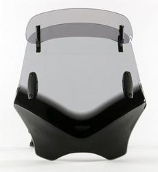 Uniwersalna szyba do motocykli bez owiewek mra przyciemniana typ vfvtc