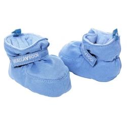Mięciutkie kapcie - buciki 0-6 miesięcy niebieskie