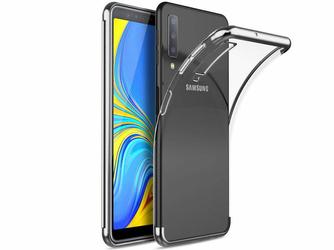 Etui Alogy Liquid Armor Samsung Galaxy A7 2018 Srebrne - Srebrny