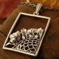 Marena - srebrny wisior
