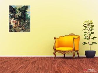 flora i zefir -  jan brueghel starszy ; obraz - reprodukcja