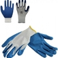 Rękawice ogrodowe robocze – dzianinowe – rozm. 10