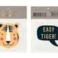 Zmywalne tatuaże dla dzieci meri meri - tygrys