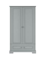 Szafa 2-drzwiowa tall Ines gray, Bellamy