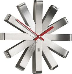 Zegar ścienny ribbon stalowy