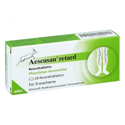 Aescusan retard retardtabletten