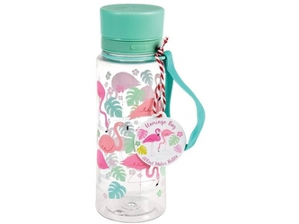 Flamingi butelka z ustnikiem 600 ml
