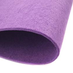 Dekoracyjny filc gładki 30x45 cm - fioletowy - FIO