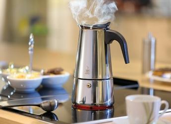 Kafeteria stalowa do zaparzania kawy emilio gefu 300 ml - 6 filiżanek espresso g-16160