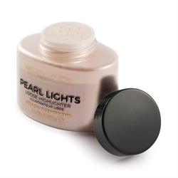 Makeup revolution pearl lights loose highlighter puder sypki rozświetlający peach champagne 25g