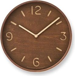 Zegar ścienny thomson ciemne drewno