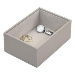 Pudełko na biżuterię open Mini Stackers taupe