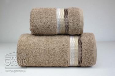 OMBRE BEŻOWY ręcznik bawełniany FROTEX - beżowy