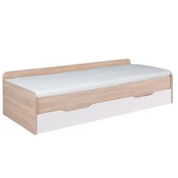 Łóżko dziecięce dwuosobowe Duos dąb sonomabiałe