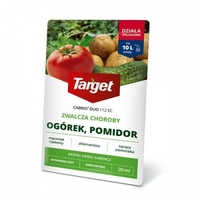 Cabrio duo 112 ec – zwalcza choroby warzyw – 20 ml target