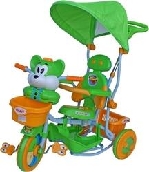 Rower trójkołowy t-30 2830 wiewiórka zielono-żółty