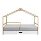 Bellamy teepee łóżko z szufladą, 90x200