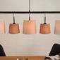 Interior space :: lampa wisząca lern 100cm biały brązowyowy beżowy