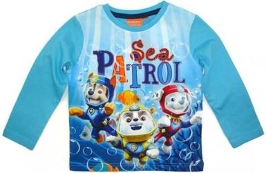 Bluzka psi patrol  sea patrol  dla chłopca 6 lat