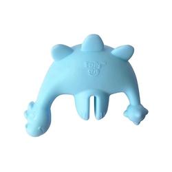 Zestaw nakładka na kubek słomką smily mia - dinozaur niebieski