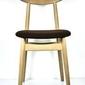 Fameg :: krzesło finn brązowe  drewno bukowe