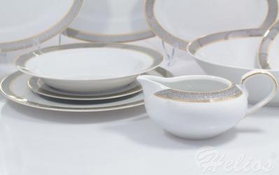 Serwis obiadowy bez wazy dla 12 os.  44 części - g627 yvonne
