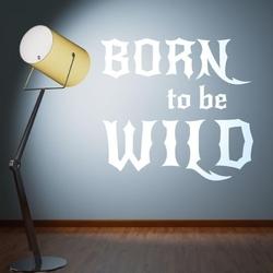 Born to be wild 1707 szablon malarski