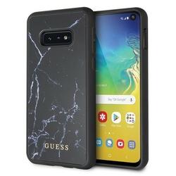 GUESS Etui Hardcase GUHCS10LHYMABK Samsung G970 S10e czarny Marble