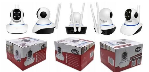Kamera ip monitoring online p2p ptz niania wifi hd  - szybka dostawa lub możliwość odbioru w 39 miastach