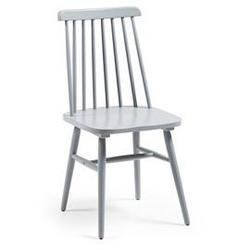 Drewniane krzesło kristie szare