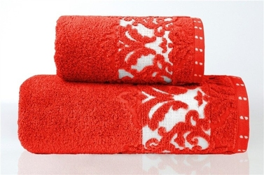 Ręcznik greno venezia czerwony - czerwony