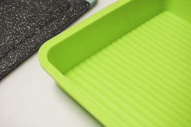Silikonowa forma na ciasto kwadratowa mix kolorów